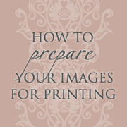 Preparing images for printing